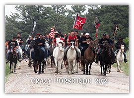 Crazy Horse Ride 2012